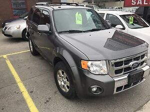2011 FORD ESCAPE LIMITED 4WD $6995 CERTIFIED