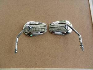 MIRROR x 2 SHORT STEM TAPERED STOCK Harley Dyna Softail Sportster Freeling Gawler Area Preview