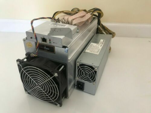 Lot of 10 Antminer L3+ 504MH with PSU Litecoin ASIC Miners