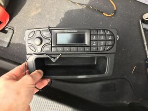 Mercedes-Benz W203 radio with Aux In