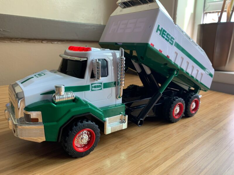 2017 Hess Dump Truck Holiday Toy