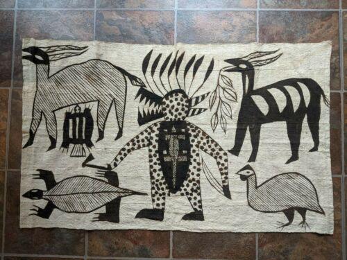Vintage Korhogo Cloth from Africa 1940