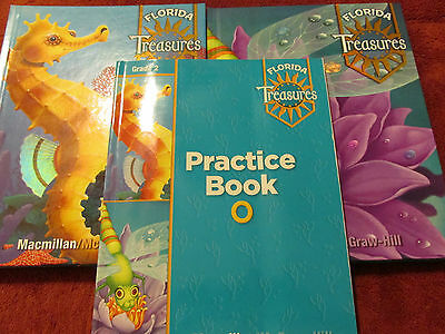 Florida Treasures Grade 2 Reading Language Arts 2 1 2 2 Plus Practice Book O