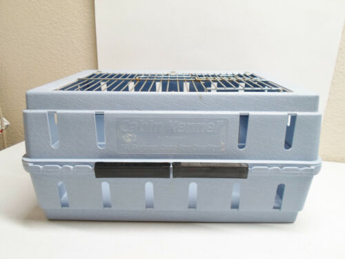 """Doskocil Cabin Kennel Airline Underseat Pet Crate 15""""x11""""x8"""" Dog Cat Open Top"""