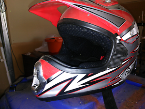 Motor cross helmet Paralowie Salisbury Area Preview