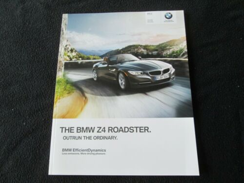 2014 BMW Z4 Coupe Roadster US Brochure sDrive 28i 35i 35is Sales Catalog