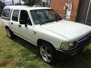 Toyota hilux 1997 SR5 . Automatic . 3 months rego Lidcombe Auburn Area Preview