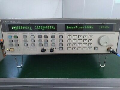 Agilent 83752b 10mhz - 20ghz High Power Synthesized Sweeper W 1e1 1e5