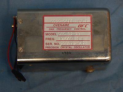 Ovenaire Oak Model Osc 92-38 10mhz Precision Crystal Oscillator Tested