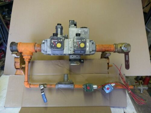 Industrial Gas Valves DUNGS Gas Train Assembly NEW