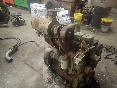 Cummins 4bt 3.9 Turbo Diesel Engine Runs Exc. Video Skidder Tractor Case 4t-390