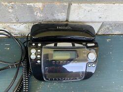 Emerson Research CKT9087 Clock Phone Radio w/Smart Set Auto Dual Alarm Caller ID