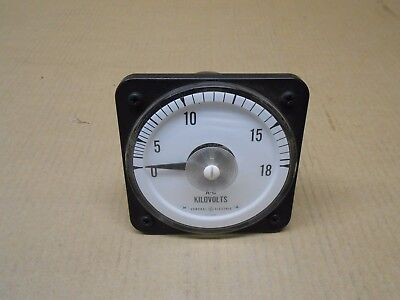 1 New Ge 50-105031-pzxe2 50105031pzxe2 Ab-30 Ab30 Voltmeter 150v 0-600vac