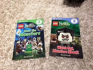 LEGO books. Readers and sticker book