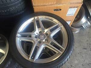 Mercedes wheels  18 inch amg Moorebank Liverpool Area Preview