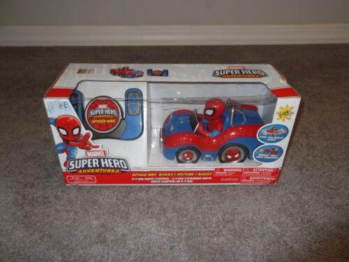 New Sealed Marvel Super Hero Adventures Spider-Man Buggy Remote Control