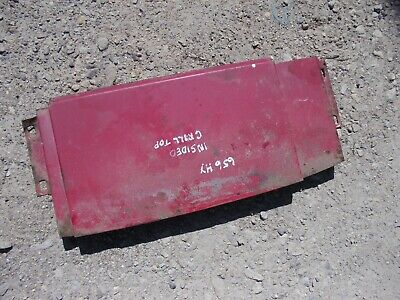 International Farmall 656 Hydro Tractor Inside Grill Top Cover Panel