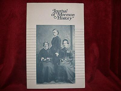 JOURNAL OF MORMON HISTORY Volume 13 1986 LDS Mormon Book  ()