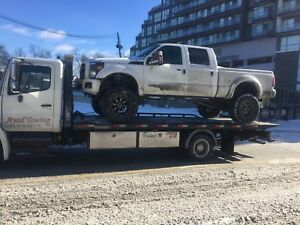 Tow truck../ flatbed