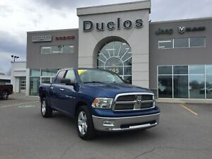 2011 Ram 1500 SLT Plus*V8*HITCH*BEDLINER*MAGS 20*