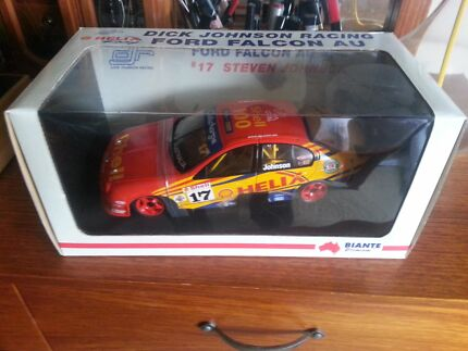 Biante 1:18 DJR year 2001 V8 Supercar Steven Johnson Lenah Valley Hobart City Preview