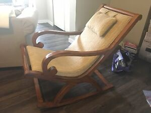 Rocking chair from Bali