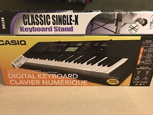 Portable Electric Keyboard + Stand (Brand New)