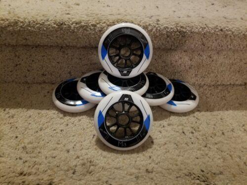 Matter Mi - 13, 110mm, F0, professional skate wheels.  8 pack  NEW!