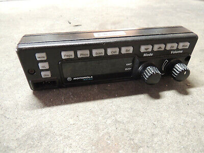 Motorola Spectra Astro Hln6432d Vhf Uhf Remote Radio Control Front Panel Only