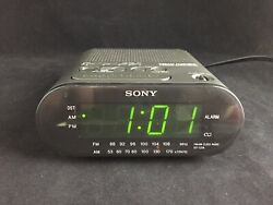 Sony Dream Machine Auto Time Set Alarm Radio Clock Model No. ICF-C218