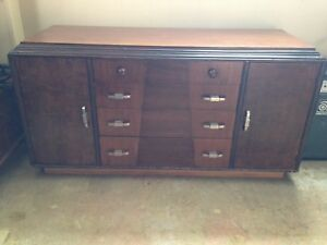 Art Deco Antique Dresser