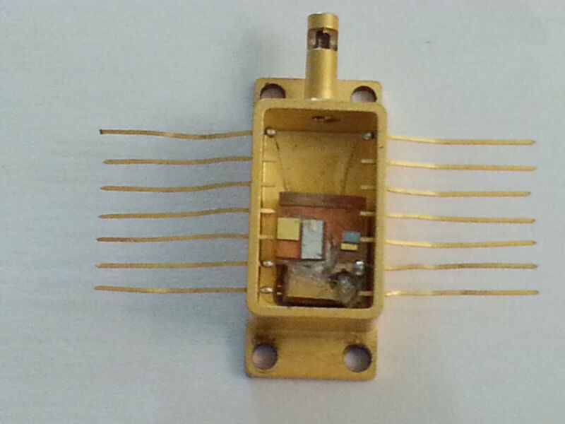 Laser Butterfly Package, ~750nm, ~160 mW. with Top& TEC, detec, therm,.- $100