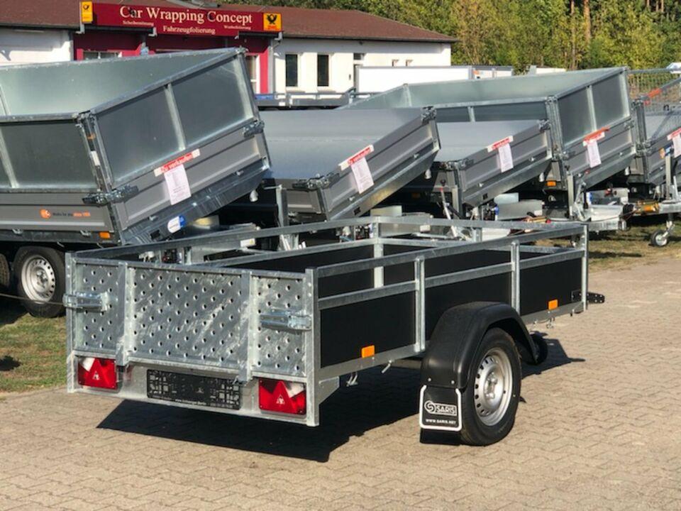 ⭐Saris Wood AMG75 750 kg 255x133x45 cm kippbar Laubgitter Klappe in Schöneiche bei Berlin