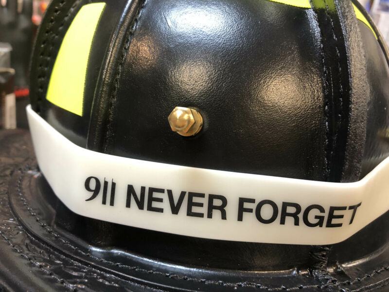 9/11 Never Forget Helmet Band