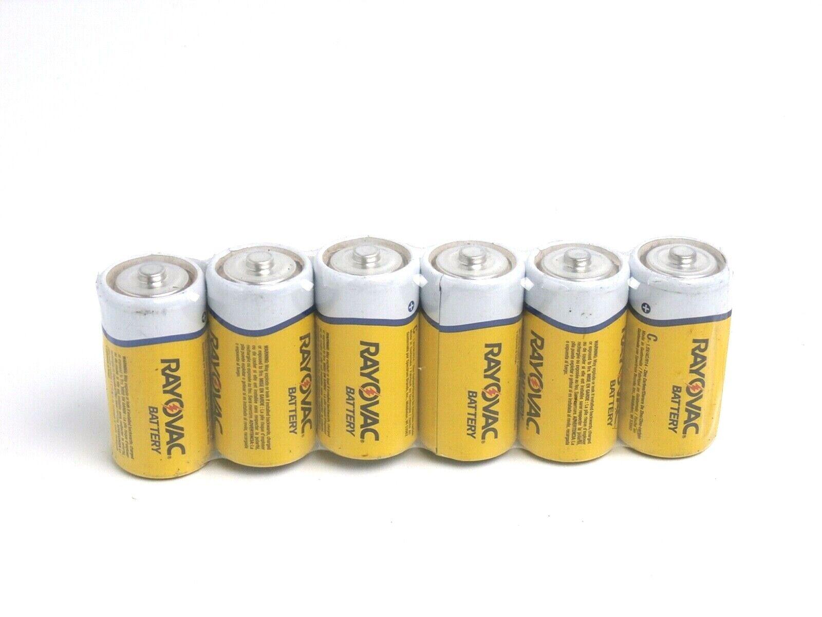 Rayovac Heavy Duty Batteries, Size C,  HD-CD, 6-Pack