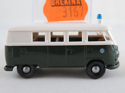 "ltd.ed.500 rare Bavaria policecar  VOLKSWAGEN VW T3a Bus /""POLIZEI/"" 1//43"