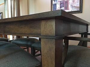 Ethan Allen Dining Room Set and Console
