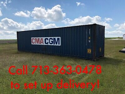 Used 40 Hi Cube Shipping Containers For Sale In Texas