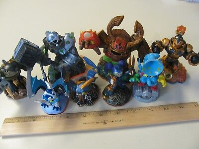 Skylanders Lot Activision Figures Xbox Wii Ps3 Ps4 Spyros Trap Team Swap Force
