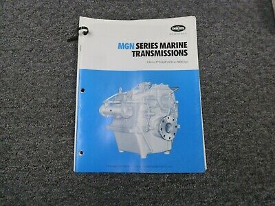 Twin Disc Mgn-827h Transmission Assembly Dimensional Specifications Manual
