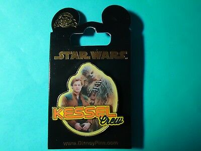 Disney Parks Solo: A Star Wars Story Hans Solo & Chewie Kessel Crew Pin **NEW**