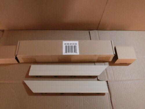NEWTECHWOOD 1/6 FT X 1FT QUICK DECK COMPOSITE DECK TILE OUTSIDE CORNER TRIM