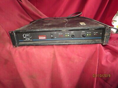 QSC Audio Products MX1500A Professional Stereo Power Amplifier Amp Powers up , used for sale  Suffern