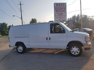 2012 Ford Econoline Cargo Van Commercial well maintained v8 low