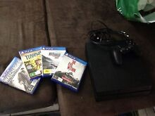 PS4, controller and 4 games Driver Palmerston Area Preview