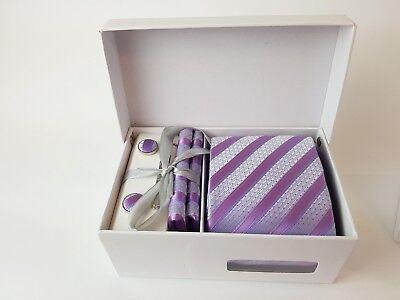 Valentine Day Box Ideas (Men's 4 Piece Boxed Office Tie Cheap Valentines Day Gift Idea for Boyfriend)