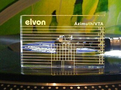 ♫ -schablone Einstellung AZIMUT / VTA + 2 Ebenen eine Blase ♫ (Ebene Plattenspieler)