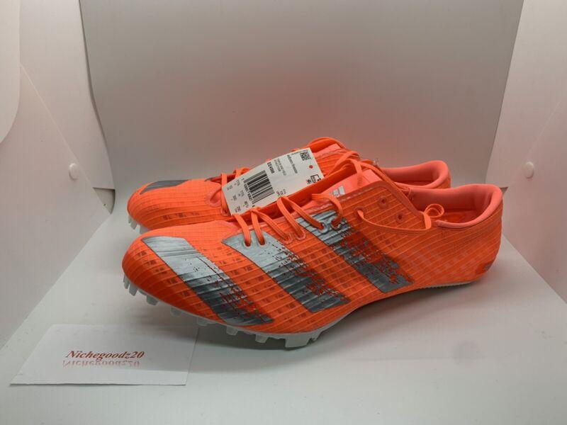 Adidas Adizero Finesse Track And Field Spikes Orange EE4598 Men's Sz 12 NWT