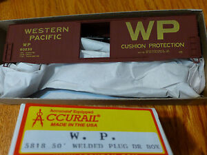 Accurail-HO-5818-Western-Pacific-AAR-50-039-Welded-60239