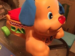 Fisher Price Laugh & Learn Stride and Ride Puppy